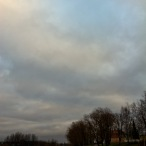 Sky and river